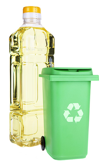 Oil And Recycle Container
